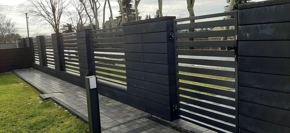 metalowe ogrodzenia